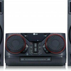 LG CE Electronics Hifi Anlage CK43.DEUSLLK schwarz HiFi-Komplettsysteme Hifi