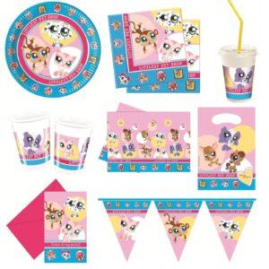 LITTLEST PET SHOP Birthday PARTY RANGE - Tableware Decorations Supplies Balloons
