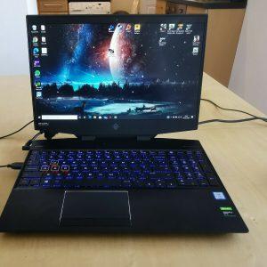 Laptop para juegos HP OMEN (i7,1660TI 6GB, 8GBRAM) HIGH SPEC