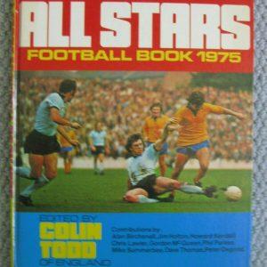 Libros de fútbol ALL STARS x 3 1968/1975/1977