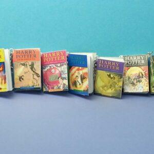 Llavero de Harry Potter Juego completo de los 7 libros