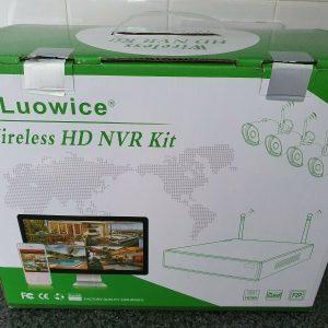 Luowice Wireless HD Security Camera Kit 2 cámaras