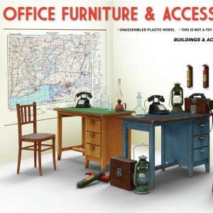 MINIART 35564 Mobiliario y accesorios de oficina en 1:35