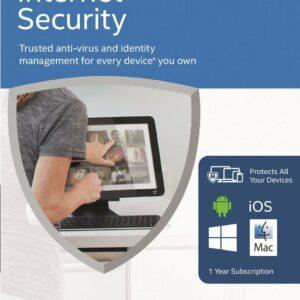 McAfee Internet Security 2016 ILIMITADO Dispositivo 1 año para PC Windows Mac Android