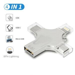 Metal 128MB USB 3.0 Flash Drives Memory Stick Pen U Disk Key Thumb For PC Laptop