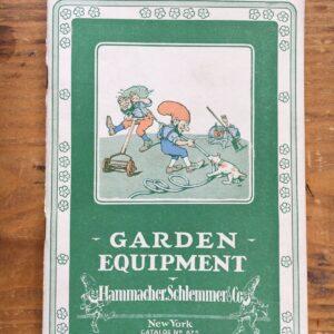 Mid 1920's Hammacher Schlemmer & Co Garden Equipment Número de catálogo 625