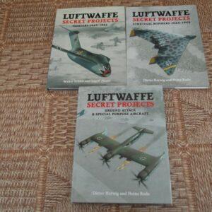 Midland Books - Proyectos secretos de la Luftwaffe - Los tres volúmenes