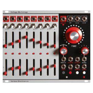 Módulo secuenciador Eurorack multietapa de voltaje de Verbos Electronics