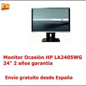 Monitor LCD panorámico de 24 pulgadas HP LA2405WG Ocasión 2años garantía