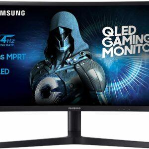 """Monitor Samsung C24FG73FQU, Gaming, QLED, Curvo, 144 Hz, VA, 24 """", 1920x1080P"""