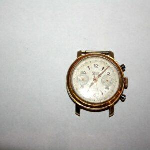 Montre chronographe mécanique RELOJ ASTOR ébauche SUISSE 1950's