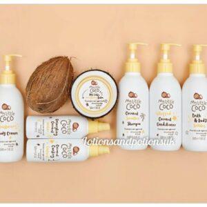 My Little Coco COCONUT Productos para el cabello de baño para bebés y niños - Aprobados por pediatras