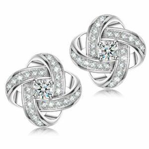 NUEVOS regalos para mujer - Pendientes de plata esterlina