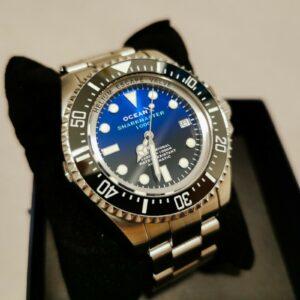 Ocean X Sharkmaster 1000 SMS 1012 Rolex SD Deepsea Hommage 44 mm Neu!  Steinhart
