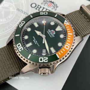 Orient New Bronze Triton Automático 200M Reloj de cristal de zafiro RA-AC0K04E10B