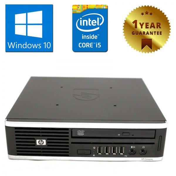 PC MINI COMPUTADORA ESCRITORIO RICONDIZIONATO HP 8200 CORE i5 RAM 8GB 250GB WINDOWS 10