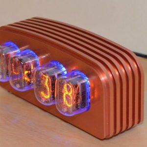 PV Electronics IN-12 Nixie Clock Kit con varias opciones de caja