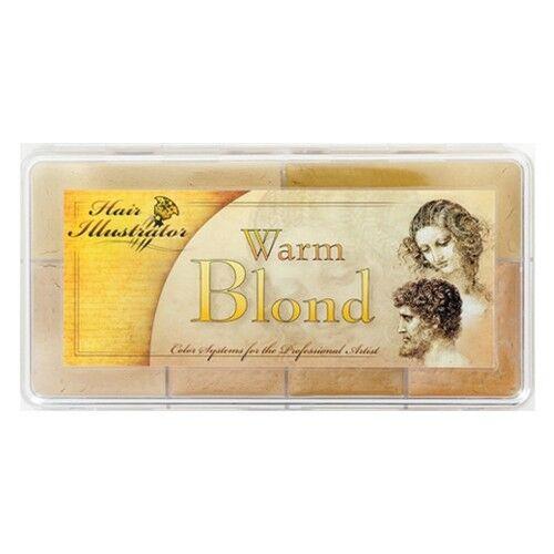 Paleta de maquillaje para rubios cálidos de Hair Illustrator PPI Premiere Products Inc