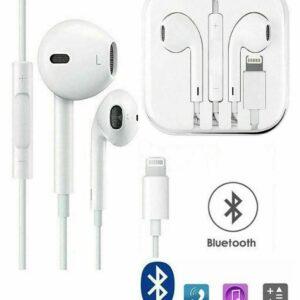 Para Apple iPhone XS, X, 8 Plus, 8, 7 Plus, 7, auriculares Lightning con Bluetooth