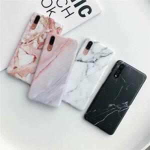 Para Huawei P20 Lite Mate20 PRO Nova 3i cubierta suave diseño de mármol Fundas para teléfonos