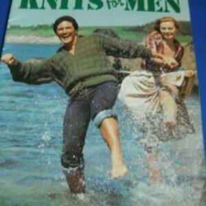 Patrón de tejido - Wendy Knits for Men libro de patrones de tejido