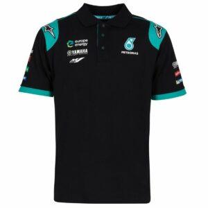 Petronas Yamaha Motogp Team Polo Shirt NEW Official Apparel