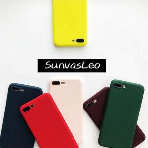 Piel suave mate colorida de la cubierta de TPU de la caja del silicón del caramelo para varios teléfonos móviles