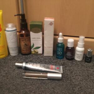 Productos de belleza Paquete mixto Cuerpo Mano y rostro Consulte la descripción para conocer el estado