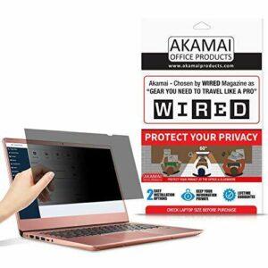 Productos de oficina de Akamai Pantalla de privacidad de 14.0 pulgadas (medida diagonalmente) para