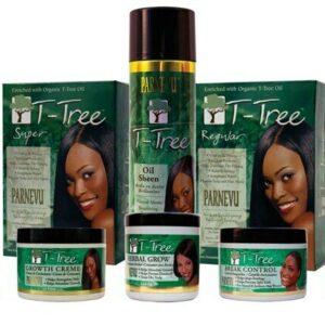 Productos para el cuidado del cabello Parnevu T-Tree