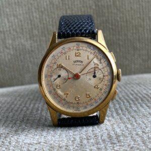 RODOS - Rodania Watch SA. - Vintage Chronograph 35,5 mm mit Landeron ca. 1950