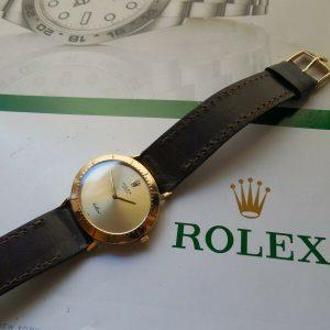 ROLEX CELLINI EN ORO MACIZO DE 18K REF # 4083 MOVIMIENTO 1601 MSRP $ 9995.00