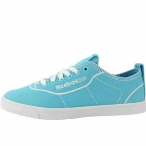 Reebok Princess - Zapatillas de lona de verano para mujer, zapatillas, zapatillas de moda, azul claro