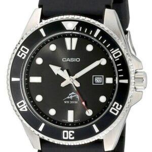 Reloj analógico Casio MDV106-1A para hombre - Negro