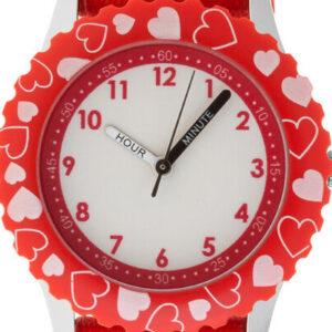 Reloj de acero inoxidable para niños Minnie Mouse de Disney (R)