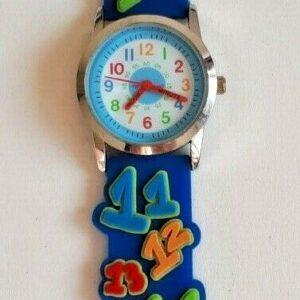 Reloj de cuarzo Reece Designs con números de novedad para niños, Semper, AW8031