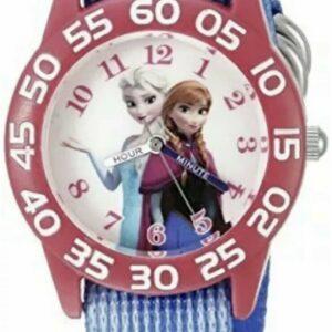 """Reloj de cuarzo para niños de Disney Infinity Frozen Elsa y Anna """"maestro del tiempo"""".  NUEVO"""