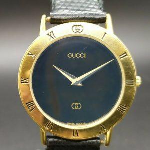 Reloj de cuarzo vintage Gucci 3000 Swiss Made para hombre