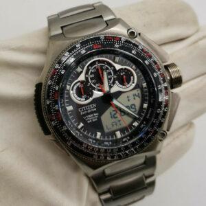 Reloj para hombre CITIZEN Promaster SST Super Chrono Titanium JW0071-58E Ana / Digital
