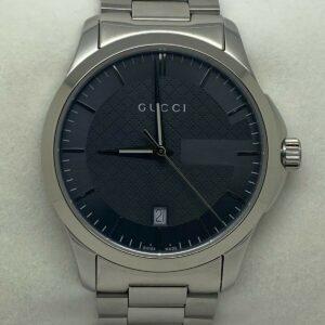 Reloj para hombre Gucci G-Timeless con esfera gris YA126441