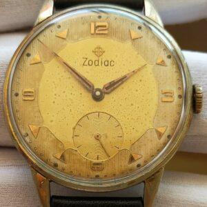 Reloj para hombre Zodiac Tamaño grande 37 mm Cal.  521 funcionando bien