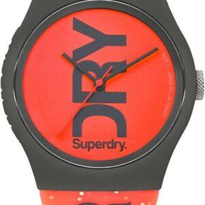 Reloj para mujer de Superdry con correa de silicona roja SYL189CE