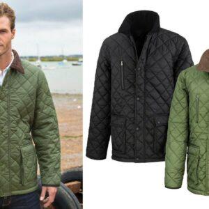 Result Urban Outdoor Wear Urban Cheltenham Gold Jacket