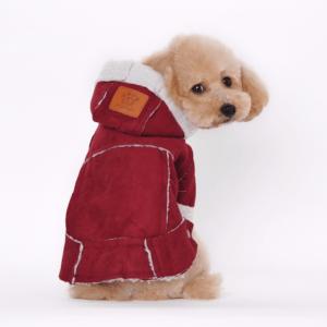 Ropa multicolor Suministros para mascotas Abrigo para perros Chaqueta Invierno Oveja Terciopelo Ropa para mascotas