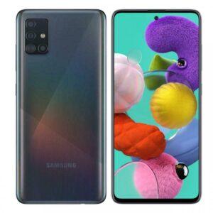 SAMSUNG GALAXY A51 128GB + 4GB RAM 6.5''SMARTPHONE TELÉFONO MÓVIL LIBRE NEGRO A515