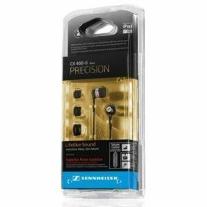 Sennheiser CX 400-II Auriculares intrauditivos de precisión con canal de graves, negro