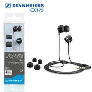 Sennheiser CX175 In-Ear Phones Auriculares Altavoz dinámico de alta fidelidad CD MP3