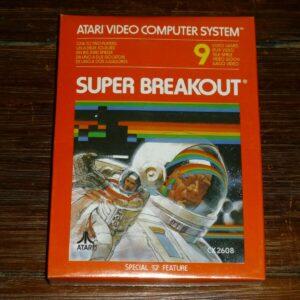 Super Breakout para el sistema informático de vídeo Atari, NOS nuevo y sellado