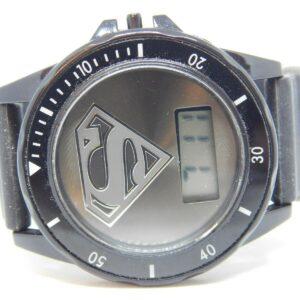 Superman Logo Quartz Digital Kid's Watch