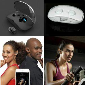 TWS Auriculares inalámbricos Auriculares Bluetooth X18S Auriculares manos libres inalámbricos Mic